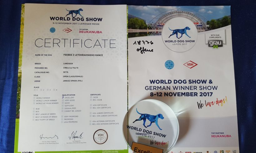 World Dog Show – LEIPZIG 2017